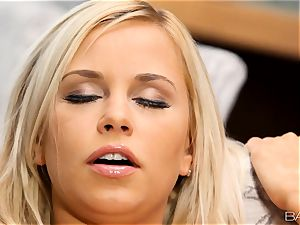 light-haired Lola Myluv gets molten and naughty by herself