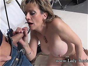 camerist Face bangs Mature female Sonia