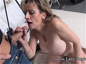 camerist Face bangs Mature female Sonia