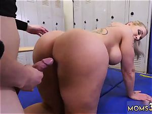 plump mommy comrade s acquaintance internal ejaculation authoritative cougar Gets A internal cumshot After anal invasion romp