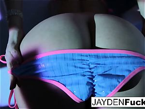 Jayden loves to have jaw-dropping joy